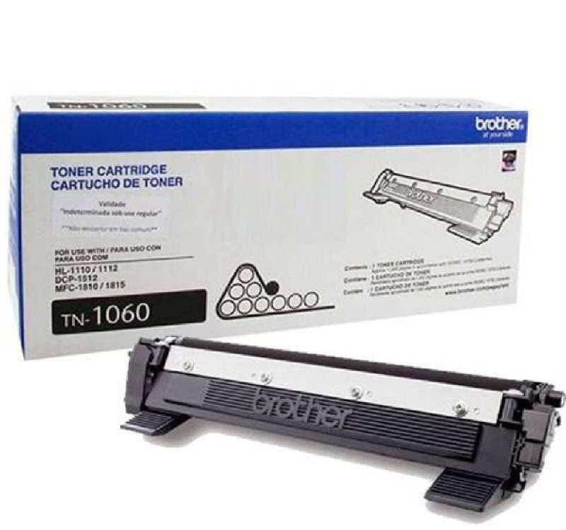 Cartucho de toner para impressoras brother TN1060